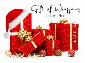 Christmas-at-the-pier, gift-wrapping, charity