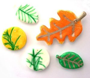 DIY-Homemade-Air-Dry-Clay-Leaves_2